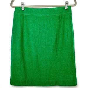 Banana Republic Wool Green Skirt size 4 EUC